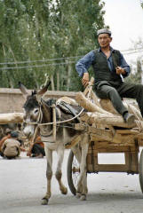 Kashgar: The Uigurs' favorite SUV