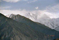 Nanga Parbat, seen from KKH