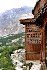 Tibetan-style Baltit Fort in the Hunza Valley, erstwhile seat of the Mirs of Hunza
